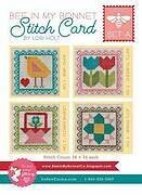 Bee in My Bonnet - Stitch Card Set A - Cross Stitch Pattern