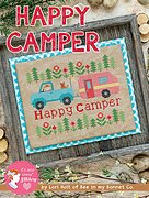 Happy Camper - Cross Stitch Pattern
