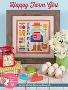 Happy Farm Girl - Cross Stitch Pattern