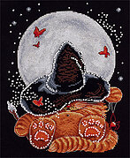 Moonlit Dream - Halloween Cross Stitch Kit