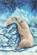 Polar Bears - Cross Stitch Kit