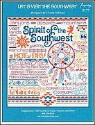 Let's Visit the Southwest - Cross Stitch Pattern
