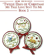 Twelve days of Christmas - Book 2 - Cross Stitch Pattern