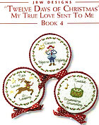 Twelve days of Christmas - Book 4 - Cross Stitch Pattern