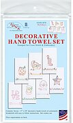 Holidays Decorative Hand Towels - Stamped Embroidery Kit