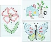 Outside Fun Beginner Kit - Embroidery Kit