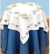 Fluttering Butterflies Table Topper - Embroidery Kit