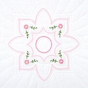 "Classic 18"" Quilt Blocks - Stamped Embroidery Kit"