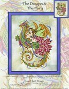 The Dragon and the Fairy - Cross Stitch Pattern