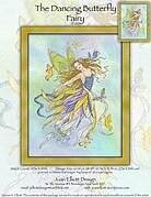 The Dancing Butterfly Fairy - Cross Stitch Pattern