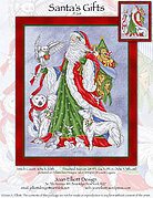 Santa's Gifts - Cross Stitch Pattern