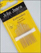 John James Crewel/Embroidery Hand Needles Size 5/10