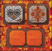 Bumble & Hoot Needlebook - Cross Stitch Pattern