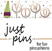 V is for Vino  (Set of 5) - Just Pins