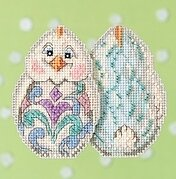 White Chick - Jim Shore - Cross Stitch Kit