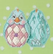 Aqua Chick - Jim Shore - Cross Stitch Kit