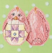 Pink Chick - Jim Shore - Cross Stitch Kit