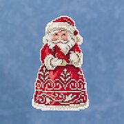 Santa With Cardinal - Jim Shore - Cross Stitch Kit