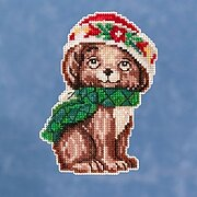 Puppy - Jim Shore - Cross Stitch Kit