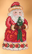 Christmas Cheer Santa - Jim Shore - Cross Stitch Kit