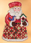 Cozy Christmas Santa - Jim Shore - Cross Stitch Kit