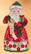 Christmas Spirit Santa - Jim Shore - Cross Stitch Kit