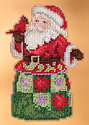 Festival Friends Santa - Jim Shore - Cross Stitch Kit