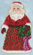 Greetings Santa - Jim Shore Beaded Cross Stitch Kit