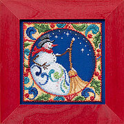 Snowman (Jim Shore) - Cross Stitch Kit