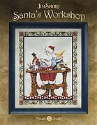 Santa's Workshop - Jim Shore Cross Stitch Pattern