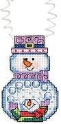 Snowballs - Holiday Wizzers - Cross Stitch Kit