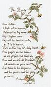 Lord's Prayer (The) - Cross Stitch Kit