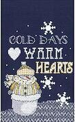 Warm Hearts - Cross Stitch Kit