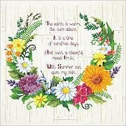 Summer Sentiments - Cross Stitch Kit