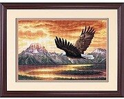 Silent Flight - Cross Stitch Kit
