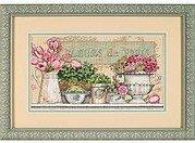 Design Works PARIS FLEURS Cross Stitch Kit Floral Design #2848