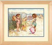 Beach Babies - Cross Stitch Kit