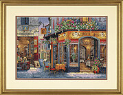 European Bistro - Cross Stitch Kit