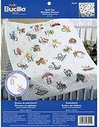 Alphabet Dreams Quilt Top Stamped Cross Stitch Kit