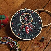 Dream Catcher - Stamped Embroidery Kit