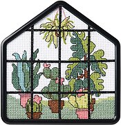Greenhouse Beginner Mini - Counted Cross Stitch Kit