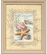 Shells In The Sand - Cross Stitch Kit