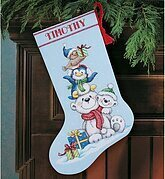 Disney Cross Stitch Christmas Stocking Patterns.Christmas Stockings Cross Stitch Kits 123stitch Com