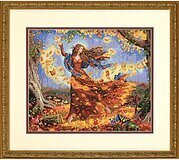 Fall Fairy - Cross Stitch Kit