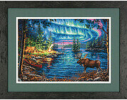 Northern Night - Cross Stitch Kit