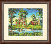 Gold Collection Summer Cottage - Cross Stitch Kit