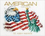 American Patriot - Cross Stitch Kit
