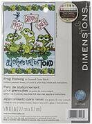 Frog Parking - Cross Stitch Kit