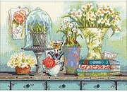 Garden Collectibles - Counted Cross Stitch Kit