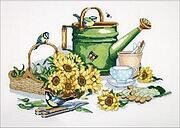 Watering Can - Cross Stitch Kit